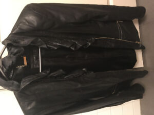 APART European real leather jacket! Worn once