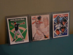 Derek Jeter MLB Rookie cards mint condition lot of 3