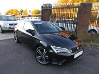 2014 14 SEAT LEON 1.4 TSI FR TECHNOLOGY 3D 140 BHP 2 PRIVATE OWNERS
