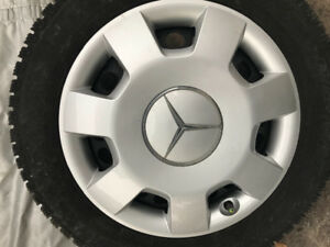 Mercedes 16-inch Winter Tires,Rims,Hubs
