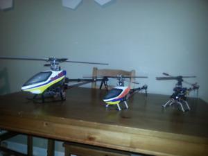 Align 450 Trex and 250 Trex