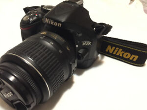 """""""Nikon D5200 DSLR"""" + 2 Lenses (18-55/55-300), Strap, Accessories"""