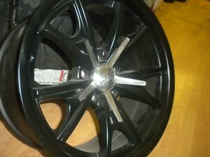 18 X 9  VN801   AMERICAN RACING  5 on 4.75 bolt pattern =2 only