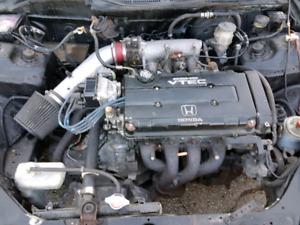 Swap complet b16b type r 1999 du japon