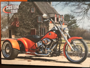 Full custom Harley-Davidson SOFT TAIL 2013 (3 wheels) -Nego