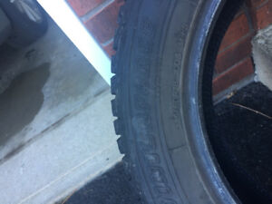"18"" Firestone Winterforce Tires Set of 4"