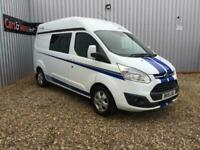 2015 FORD TRANSIT CUSTOM 290 LTD E-TECH MOTOR HOME 2 BERTH