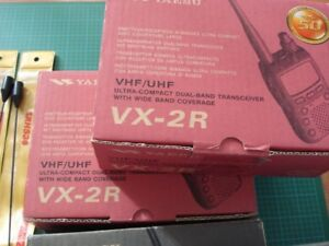 YAESU VX-2R handheld radio Dual-Band Transceiver w Wide Band