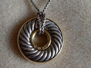 David Yurman Twisted Cable Necklace