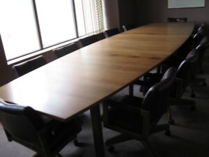 Boardroom and office furniture sale