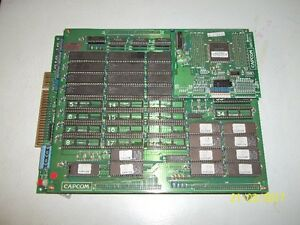 Capcom Street Fighter II Arcade Boards