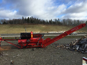 Used Firewood processor with self contained engine