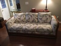 Couches and hall table