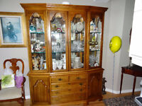 High end display cabinet from Frazer House.