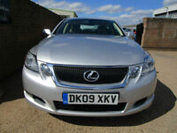 "2009 09 Lexus GS 300 3.0 SE-L CVT AUTOMATIC 1 OWNER FLSH CREAM LEATHER 18"" NAVI"