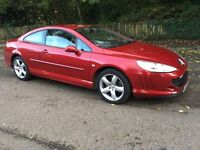 Peugeot 407 coupe 2.7 hdi v6 twin turbo px car or bike cash eitherway