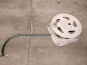 One 50 foot hose and hose reel