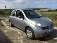 NISSAN MICRA S 3DR SILVER 1.2 2003