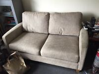 Two seater sofa and two armchairs DFS