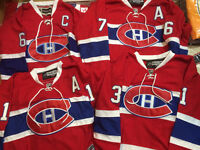***NEW STYLE LACE -  MONTREAL CANADIENS - $75ea - M to XXXL
