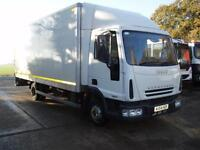 IVECO EUROCARGO 75E17 20 FT BOX TRUCK WITH 1.000 KG TAILIFT 2004 7500 KG GVW