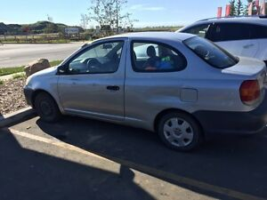 2003 Toyota Echo for sale 5 speed