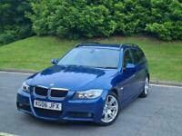 2006 BMW 3 Series 320d M Sport 5dr *** FULL LEATHER- FREE DELIVERY *** ESTATE Di