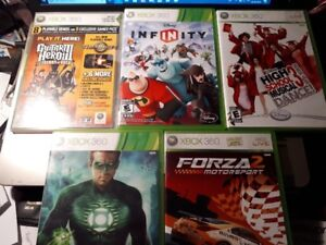 (6) X Box 360 games