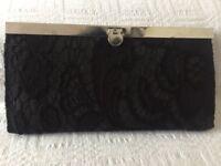 Ladies black purse