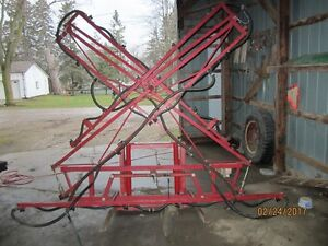Sprayer boom & pump