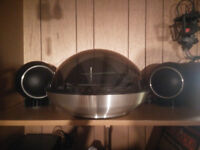 1970's Electrohome Dome Turntable