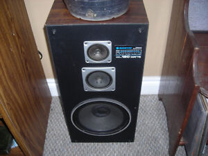 Sanyo AD 9125 Speakers
