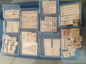 Stampin'up stamps and supplies