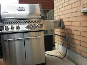Gas lines installation for stoves, BBQs, dryers etc...