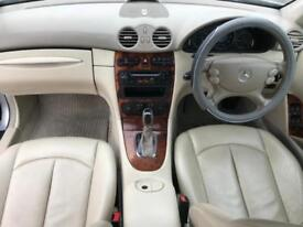 MERCEDES-BENZ CLK 200 1.8 KOMPRESSOR ELEGANCE (2004 04) COUPE AUTOMATIC