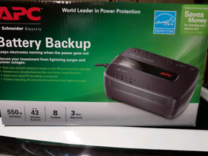UPS battery backup brand new sealed in box
