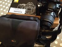 NIKON D40 DSLR Camera and accessories