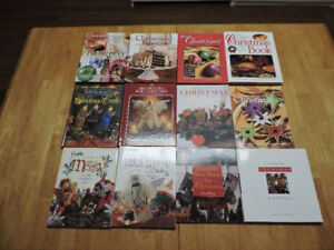 MINT CONDITION Assortment of 12 Xmas Books