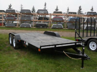 "New 2018 ""RAINBOW"" 16' Car  & Equipment Utility Trailer Red Deer Alberta Preview"