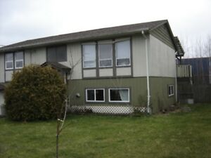 three bedroom house, with two bedroom basement suite