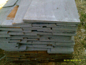 clear cedar sidewall shingles verticle grain old growth $75.00/