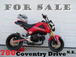 2015 Honda Grom .......... a mere 290 kms ..... will PRICE MATCH