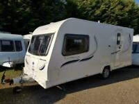 2012 Bailey Olympus 460-2 2 Berth End Washroom Caravan
