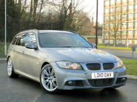 2010 BMW 3 Series 3.0 335d M Sport Touring 5dr WITH MEGA SPEC+FBMWSH+RED LEATHER