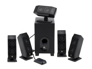 Logitech X-540 3.1 Surround Sound Speaker System with Subwoofer