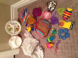 Baby feeding, teething and more lot