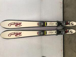 Mini ski rossignol 123cm( snowblade)  pour ado- adulte volkl 120