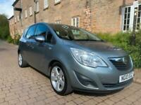 VAUXHALL MERIVA 1.4 EXCLUSIVE LOW MILEAGE FIRST TO SEE WILL BUY