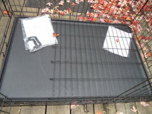 New iCrate XL Wire Pet Cage / Crate With Cover And Divider