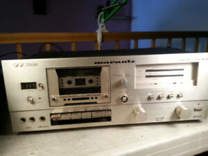 Marantz SD3000 Stereo Cassette Deck For Parts Or Repair/TRADE